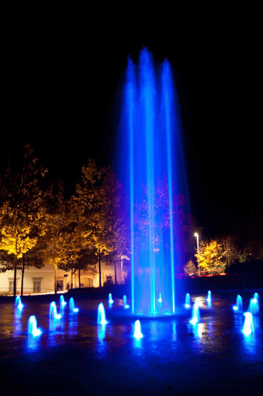 Springbrunnen im Klostergarten
